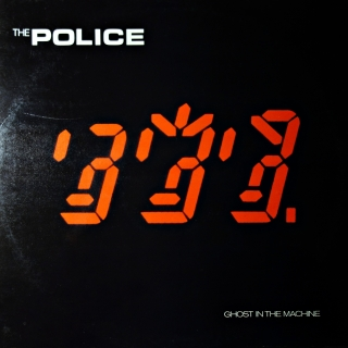 LP The Police ‎– Ghost In The Machine