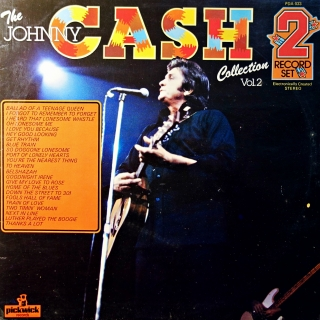 LP Johnny Cash ‎– The Johnny Cash Collection - Vol. 2