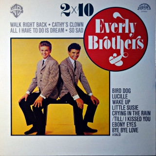 LP Everly Brothers ‎– 2x10 Everly Brothers