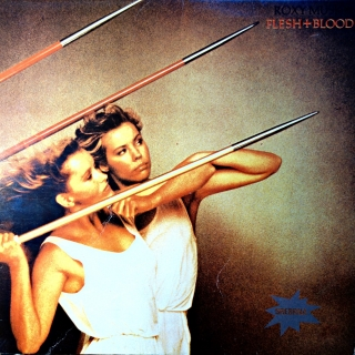 LP Roxy Music ‎– Flesh + Blood