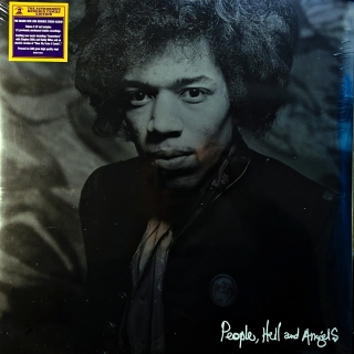 2xLP Jimi Hendrix ‎– People, Hell And Angels