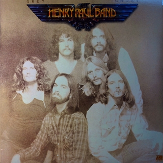 LP Henry Paul Band ‎– Grey Ghost