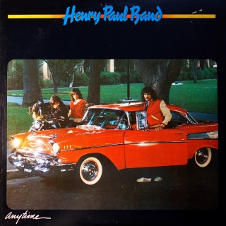 LP Henry Paul Band ‎– Anytime