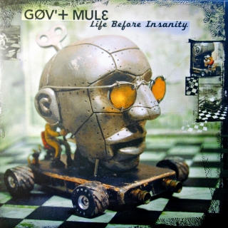 2xLP Gov't Mule ‎– Life Before Insanity