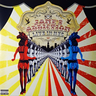 2xLP Jane's Addiction ‎– Live In NYC