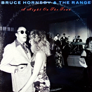 LP Bruce Hornsby & The Range ‎– A Night On The Town