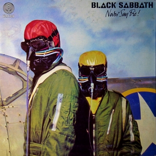 LP Black Sabbath ‎– Never Say Die!
