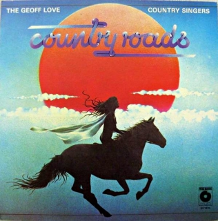 LP The Geoff Love Country Singers ‎– Country Roads