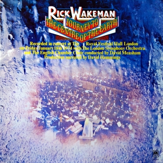 LP Rick Wakeman ‎– Journey To The Centre Of The Earth