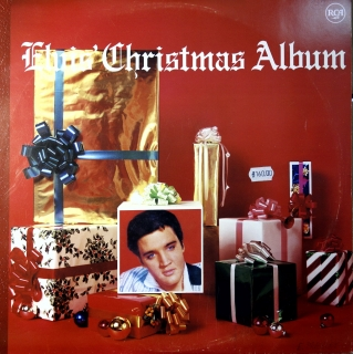 LP Elvis ‎– Elvis' Christmas Album