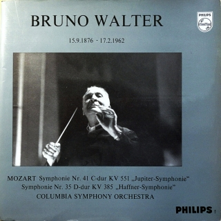 LP Bruno Walter, Columbia Symphony Orchestra, Wolfgang Amadeus Mozart