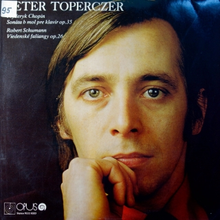 LP Frédéric Chopin, Schumann / Peter Toperczer - Sonata For Piano / Carnival