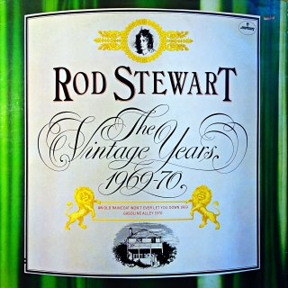 2xLP Rod Stewart ‎– The Vintage Years 1969-70