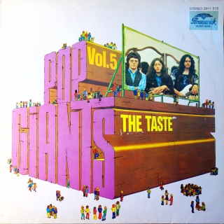 LP The Taste ‎– Pop Giants, Vol. 5
