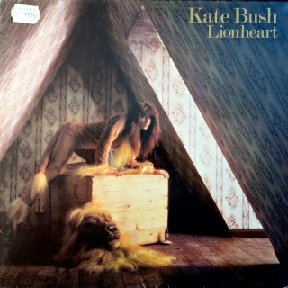 LP Kate Bush ‎– Lionheart