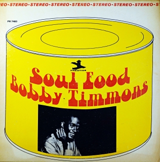 LP Bobby Timmons ‎– Soul Food