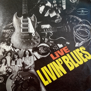 LP Livin' Blues ‎– Livin' Blues Live
