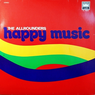 LP The Allrounders ‎– Happy Music
