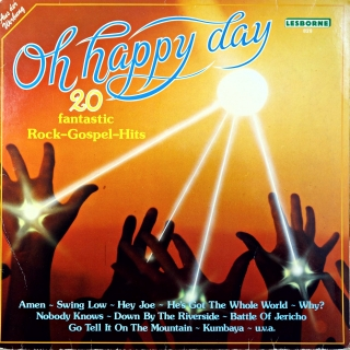 LP Lee Brown Singers ‎– Oh Happy Day - 20 Fantastic Rock-Gospel-Hits