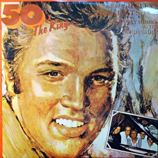LP Danny Mirror & The Jordanaires - 50 X The King - Elvis Presley Greatest Songs