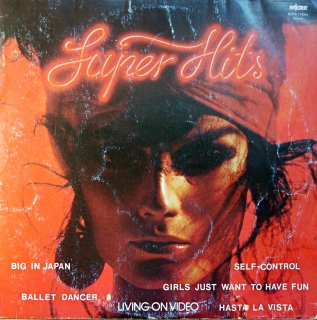 LP Various ‎– Super Hits Living On Video