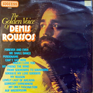 LP Demis Roussos ‎– The Golden Voice Of Demis Roussos