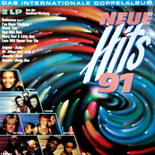 2xLP Various ‎– Neue Hits 91 • Das Internationale Doppelalbum