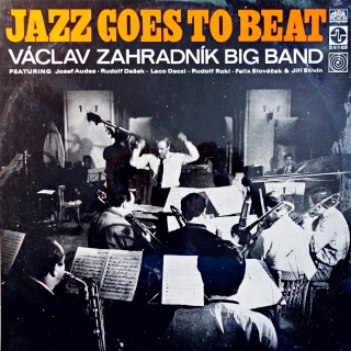 LP Václav Zahradník Big Band ‎– Jazz Goes To Beat