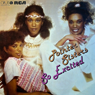 LP Pointer Sisters ‎– So Excited