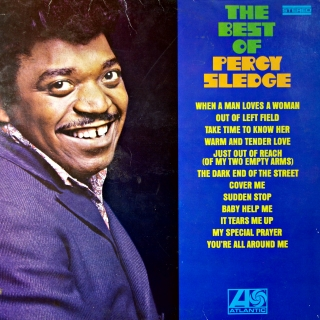 LP Percy Sledge ‎– The Best Of Percy Sledge