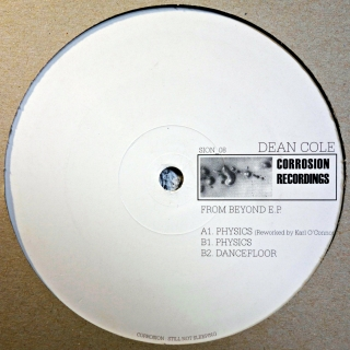 "12"" Dean Cole ‎– From Beyond E.P."