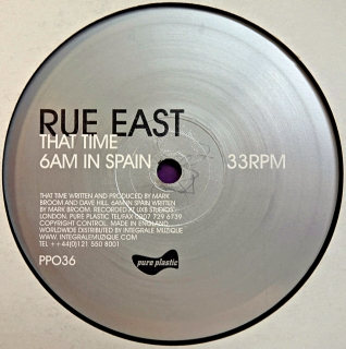 "12"" Rue East ‎– That Time Remix"