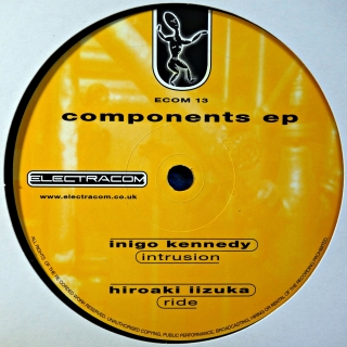 "12"" Various ‎– Components EP"