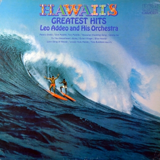 LP Leo Addeo And His Orchestra ‎– Hawaii's Greatest Hits