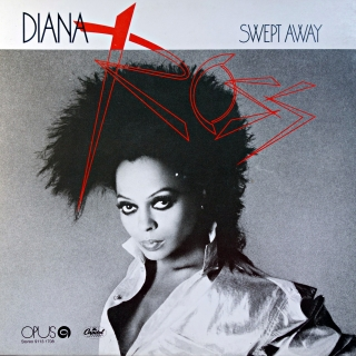 LP Diana Ross ‎– Swept Away