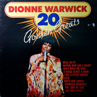 LP Dionne Warwick ‎– 20 Golden Greats