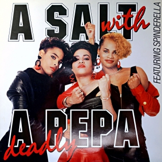 LP Salt N Pepa ‎– A Salt With A Deadly Pepa