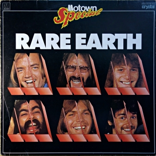 LP Rare Earth ‎– Rare Earth