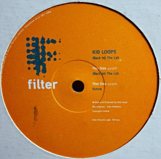 "12"" Kid Loops ‎– (Back To) The Lab / Futura"