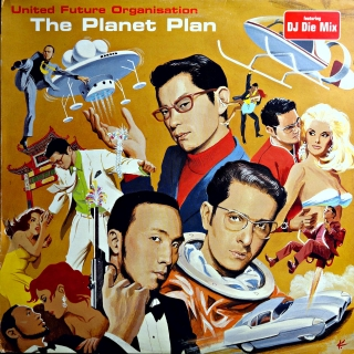 "12"" United Future Organisation ‎– The Planet Plan"