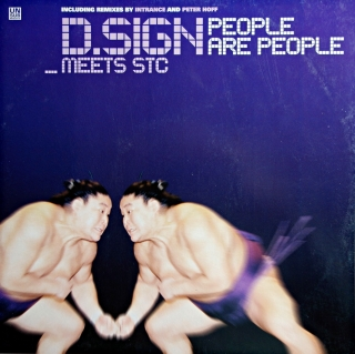 "12"" D.Sign Meets STC ‎– People Are People"
