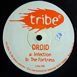 "12"" Droid ‎– Infection / The Fortress"