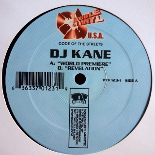 "12"" DJ Kane ‎– World Premiere / Revelation"