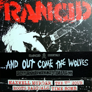 "5x7"" Rancid ‎– ...And Out Come The Wolves"