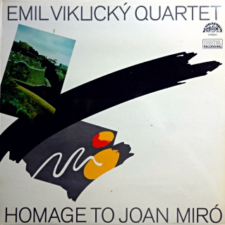LP Emil Viklický Quartet ‎– Homage To Joan Miró