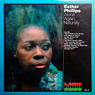 LP Esther Phillips ‎– Alone Again Naturally