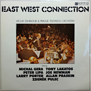 LP Václav Zahradník & Prague Television Orchestra ‎– East West Connection