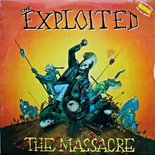 LP The Exploited ‎– The Massacre
