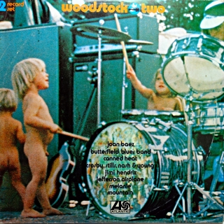 2xLP Various ‎– Woodstock Two