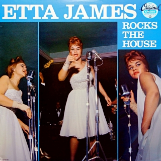 LP Etta James ‎– Rocks The House